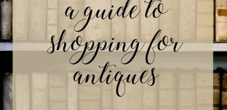 Tips for Antique Shopping