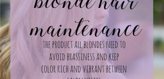 Blonde Hair Maintenance: Purple Magic