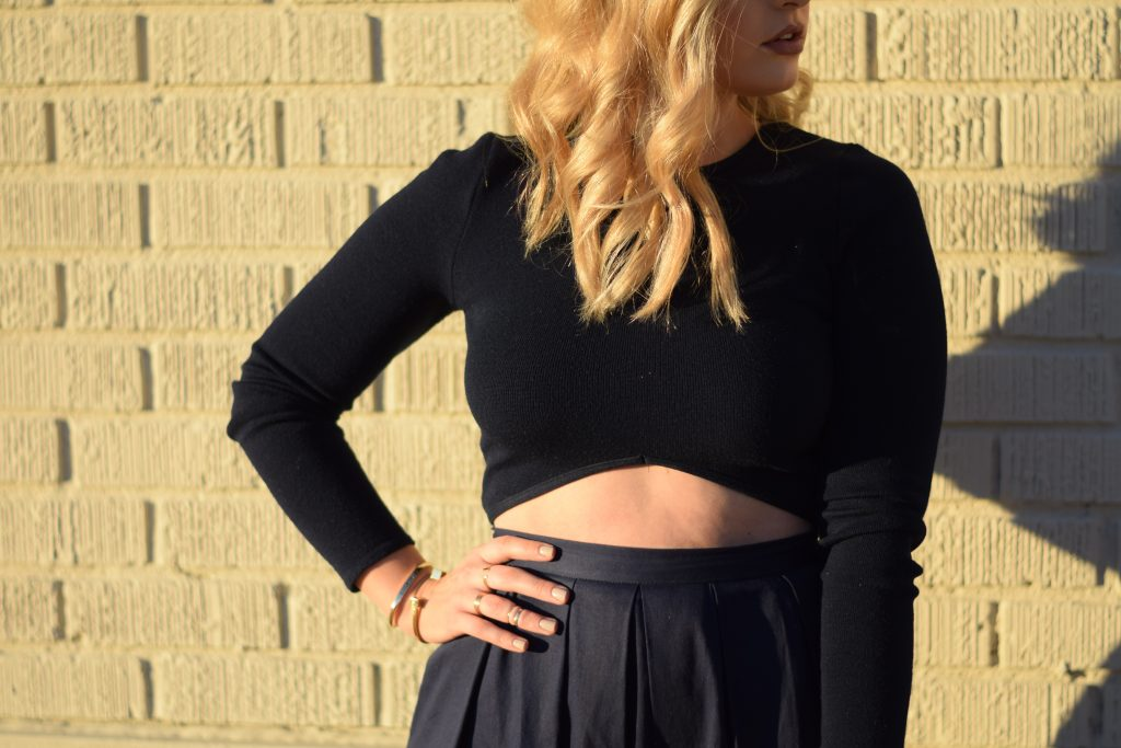 How to Style an A-Line Skirt