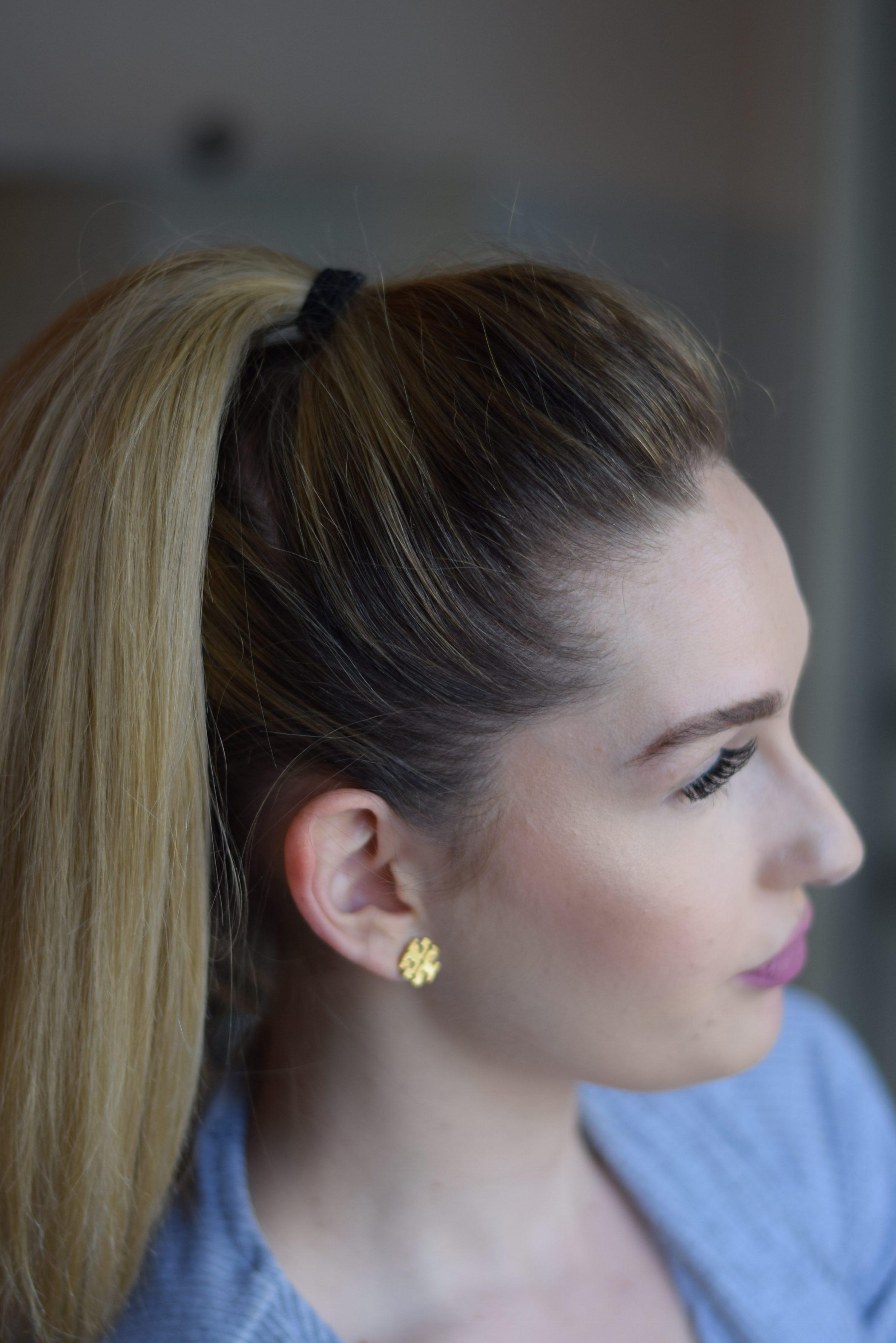 Voluminous Ponytail Tutorial - LaurenJaclyn.com
