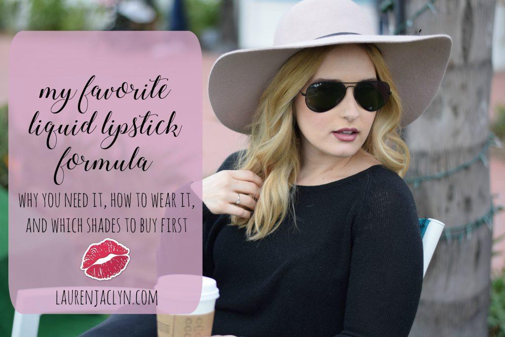 My Favorite Liquid Lipstick: Kat Von D