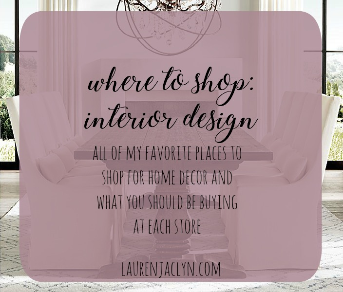 Where to Shop: Home Decor