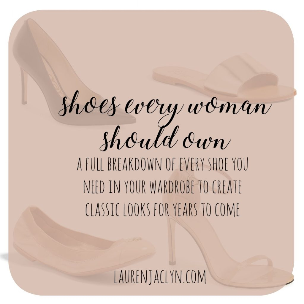 Classic Shoes Every Woman Should Own