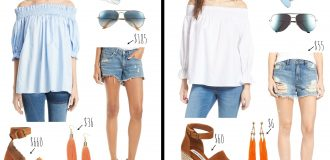 Splurge vs. Save: Affordable Spring Look