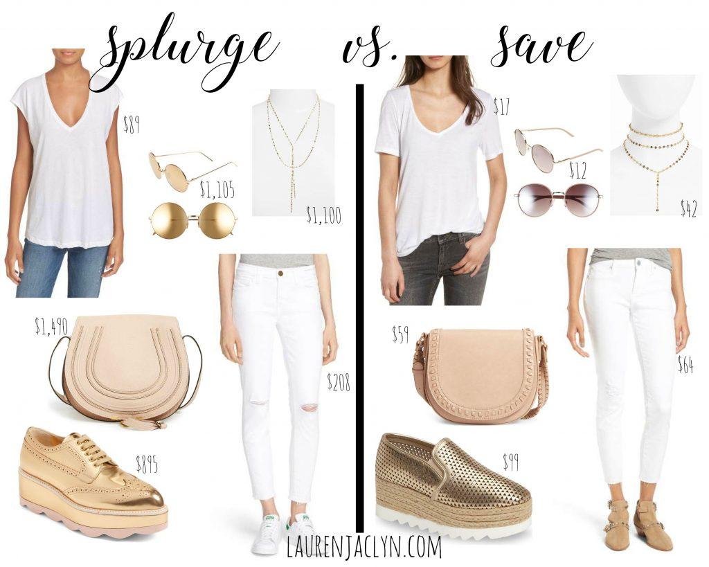 Splurge vs. Save: Affordable Summer Look