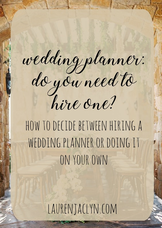Wedding Planner: Do You Need to Hire One?