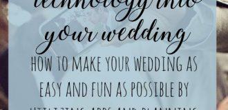 Technology in Weddings