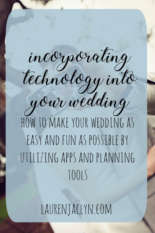 Technology in Weddings