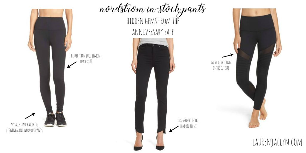 Nordstrom In-Stock Pants - LaurenJaclyn.com