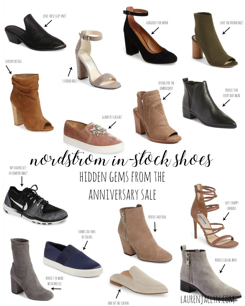 Nordstrom In-Stock Shoes - LaurenJaclyn.com