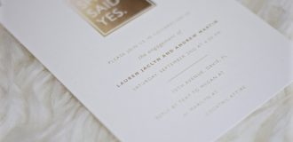 Invitations by Minted