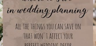Wedding Planning: Where to Save