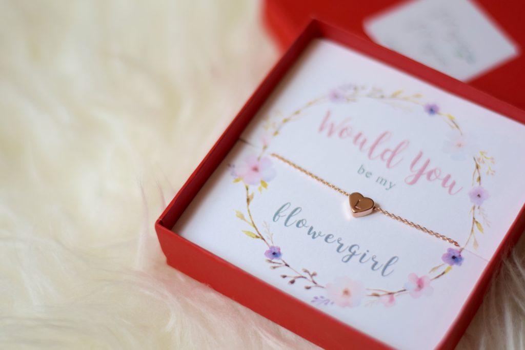 Flower Girl Proposal Gift