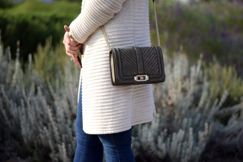 Dainty Meets Chunky: Knit Cardigan - LaurenJaclyn.com