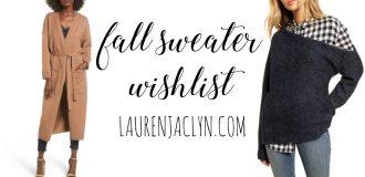 Fall Sweaters Wishlist