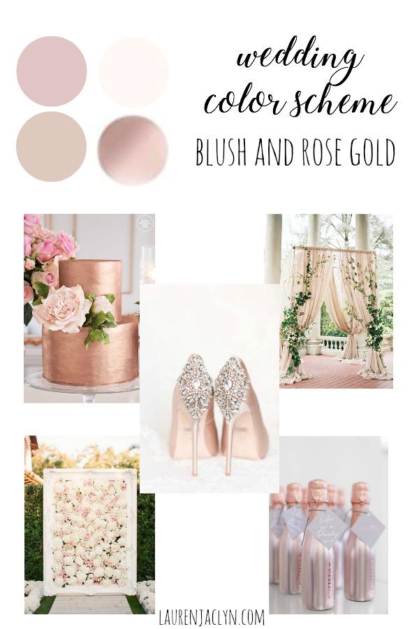 Wedding Color Scheme Options Lauren Jaclyn