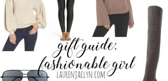 Gift Guide for the Fashionable Girl