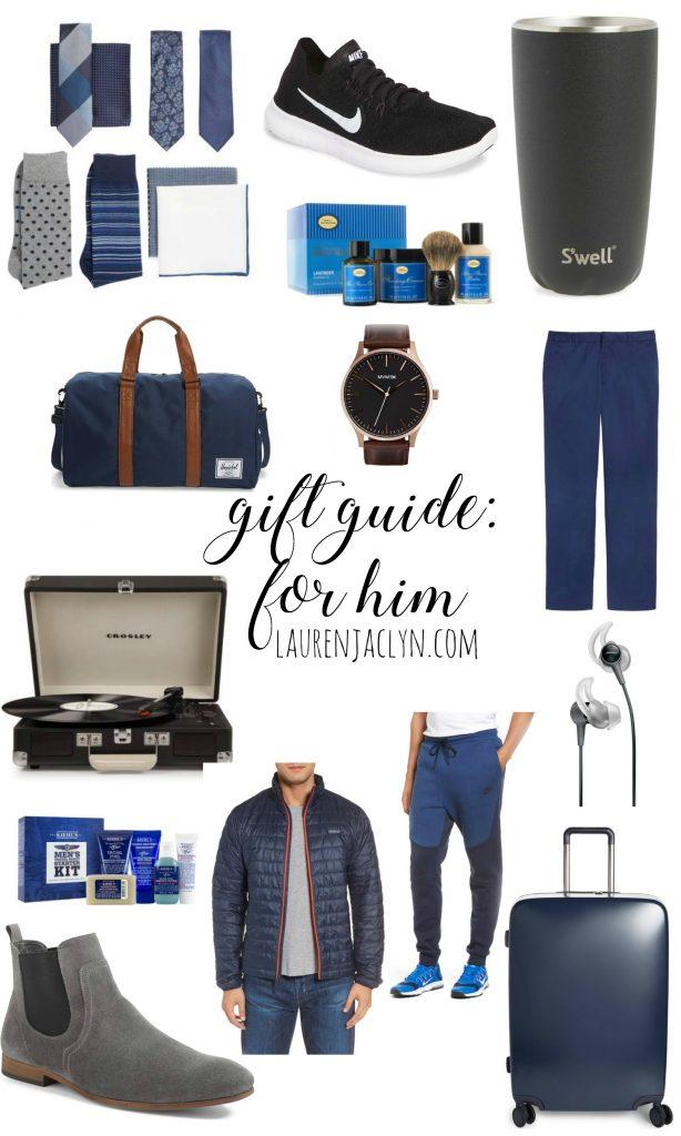 Gift Guide for Him - LaurenJaclyn.com