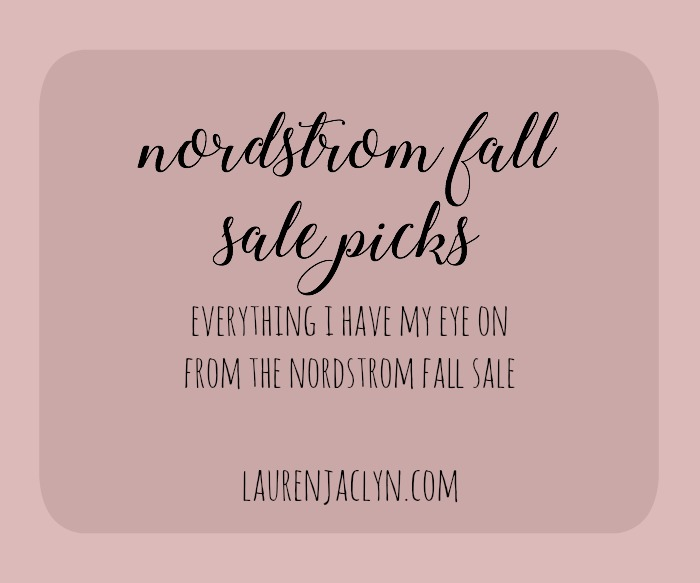 Nordstrom Fall Sale Picks