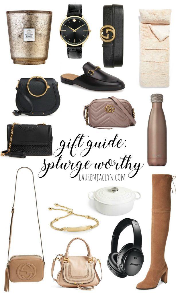 Splurge Worthy Gift Guide