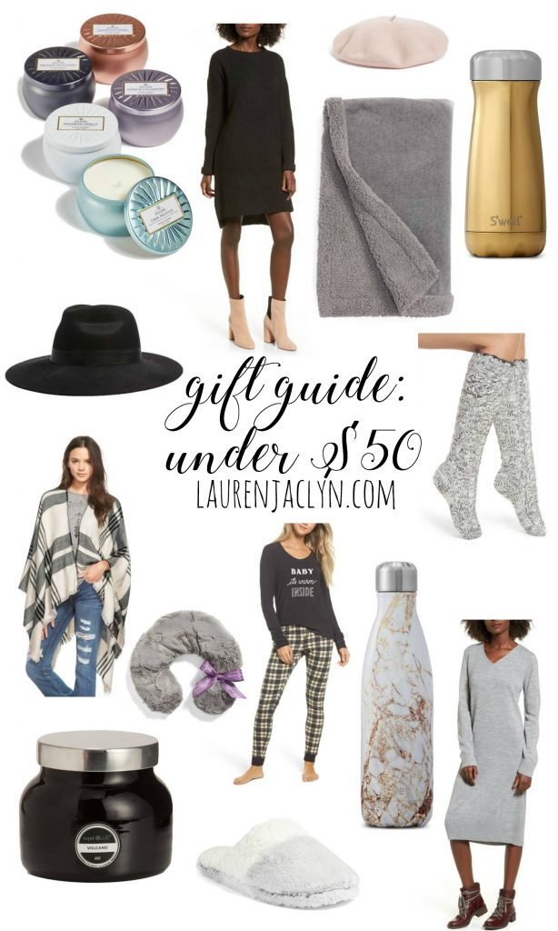 Gift Guide: Gifts Under $50 - LaurenJaclyn.com