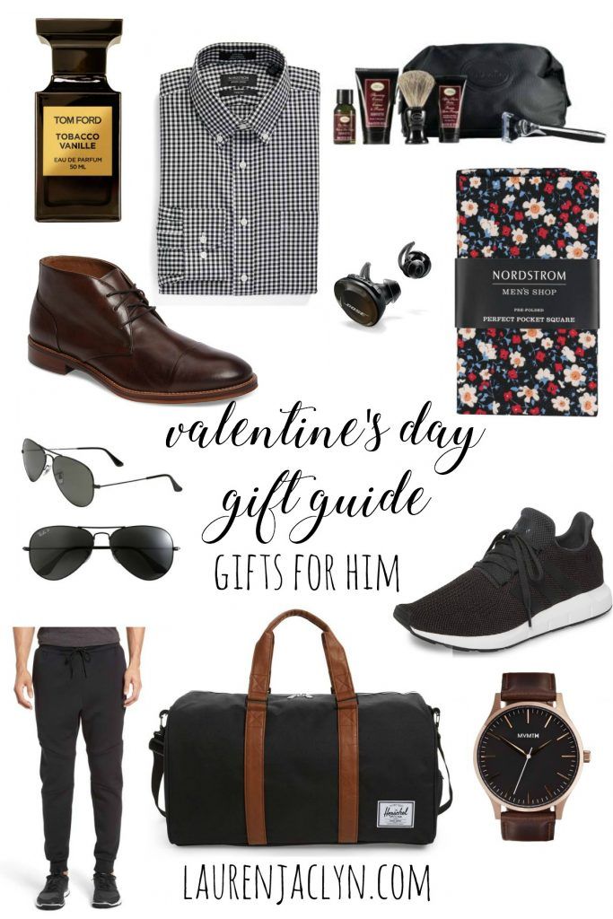 Valentine's Day Gifts For Him - LaurenJaclyn.com
