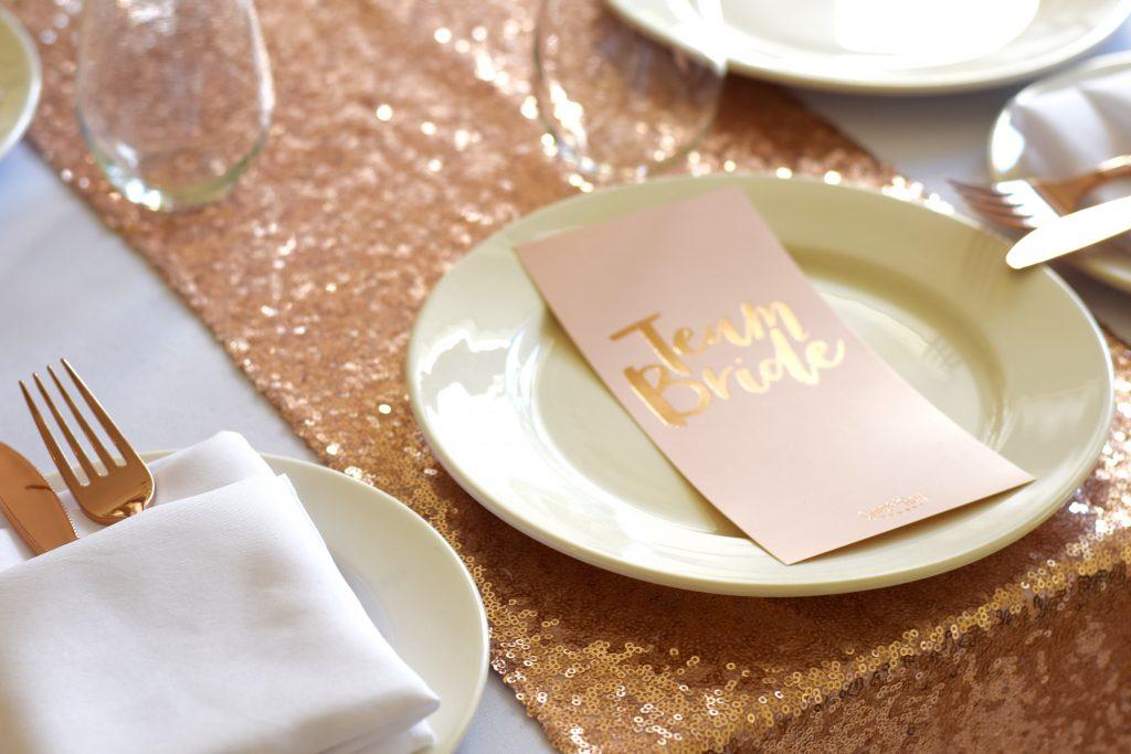 Rose Gold Bridal Shower
